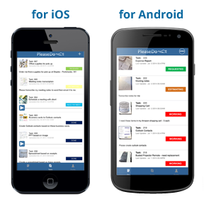 For iOS and for Android devices